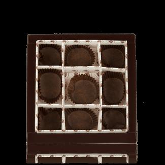 Коробка картонна для 9 цукерок