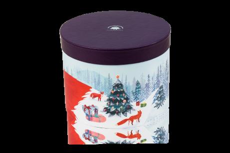 Коробка подарункова «Зимова лисичка» (порожня)
