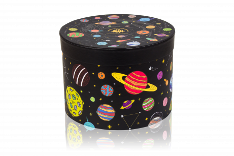 Carton gift box «Space» (empty)