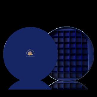 Коробка кругла для 52 цукерок (порожня)