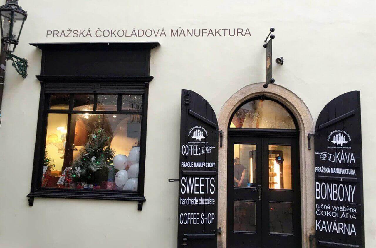 Майстерня шоколаду у Празі