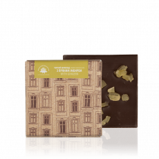 Dark chocolate with ginger, 90 g