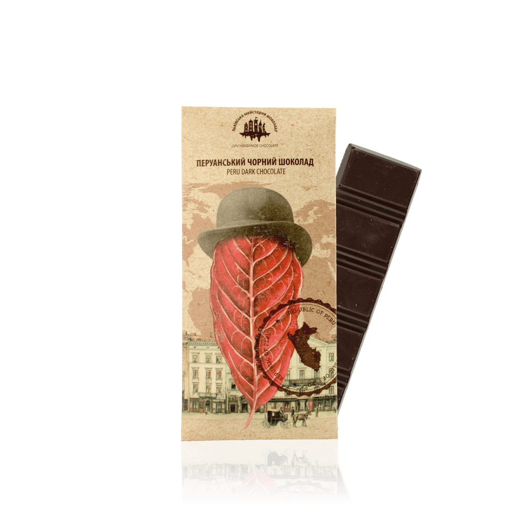 Перуанський чорний шоколад, 25 г