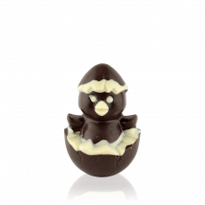 Курчатко з чорного шоколаду