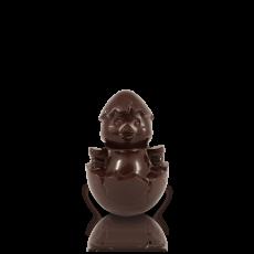 Курчатко мале з чорного шоколаду