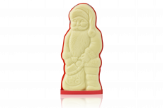 Father Frost gift, white chocolate