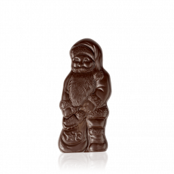 Father Frost gift, dark chocolate