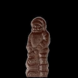 Зимовий Дід подарунковий з чорного шоколаду