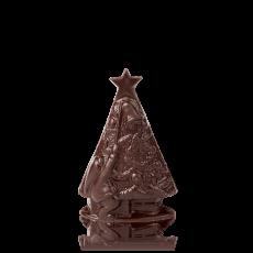 Ялинка Різдвяна з чорного шоколаду