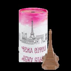 Вежа Ейфеля з молочного шоколаду