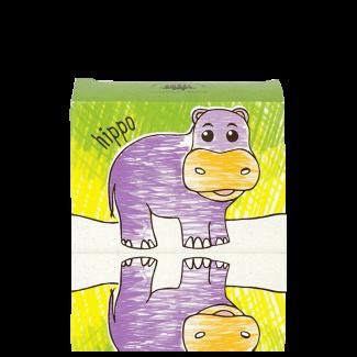 Hippo, milk chocolate