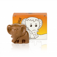 Слоник з молочного шоколаду