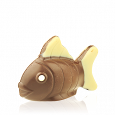 Decorated Fish, milk chocolate