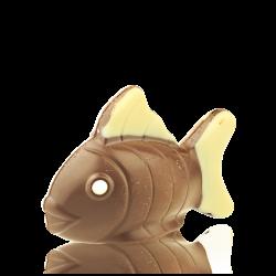 Decorated Fish, milk chocolate