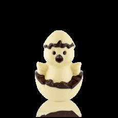 Курчатко з білого шоколаду