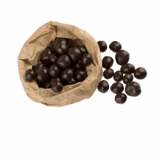 Dark chocolate coated hazelnut, 100 g