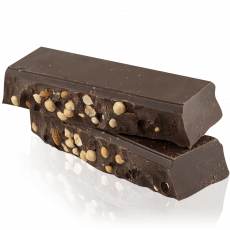 Dark chocolate with nuts