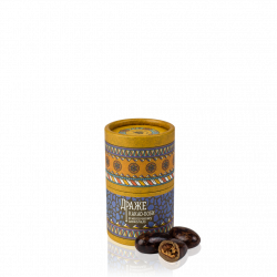 "Dragée ""Milk chocolate coated cocoa beans"""