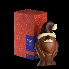 Зимовий чарівник з чорного шоколаду