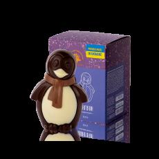 Пінгвін з чорного шоколаду