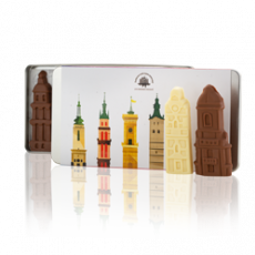 "Set of chocolate figurines ""Towers of Lviv"""