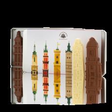 Набір шоколадний фігурок «Вежі Львова»