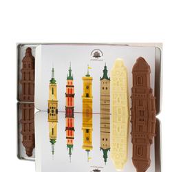 "Set of chocolate figurines ""Towers of Lviv"""