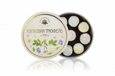 "Set of chocolate sweets ""Floral Truffle"""