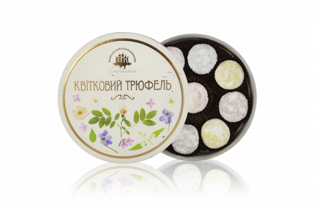"""Set of chocolate sweets """"Floral Truffle"""""""