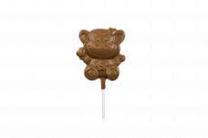 Monkey lollipop, milk chocolate