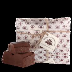 Молочний шоколад зі смаком карамелі 500г