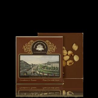 Молочний шоколад з лісовим горіхом, 100 г