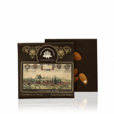 Dark chocolate with almond, 100 g