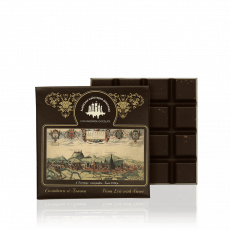 Dark chocolate with mint, 100 g