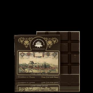 Чорний шоколад з м'ятою, 100г