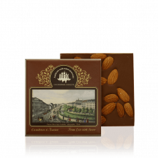 Milk chocolate with almond, 100 g
