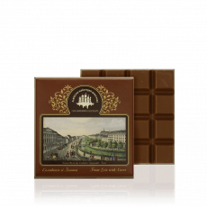 Milk chocolate with caramel, 100 g