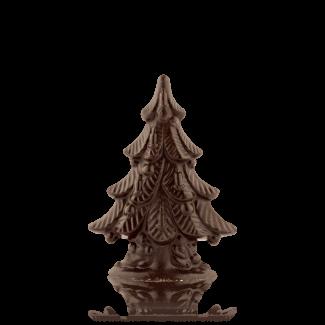 Ялинка з чорного шоколаду