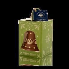 Christmas bell, milk chocolate