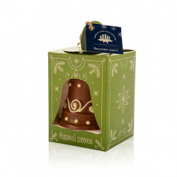 Різдвяний дзвоник з молочного шоколаду