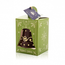 Різдвяний дзвоник з чорного шоколаду