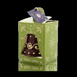 Christmas bell, dark chocolate