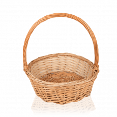 Wicker basket, medium