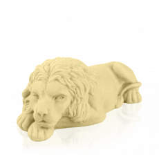 «Lviv» Lion, white chocolate