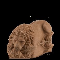 Лев львівський з молочного шоколаду