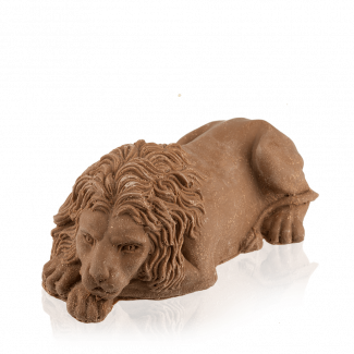 Лев «львівський» з молочного шоколаду