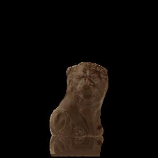 Лев малий з чорного шоколаду