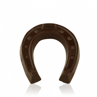 Horseshoe, dark chocolate
