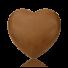 Серце велике з молочного шоколаду