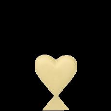 Серце мале з білого шоколаду